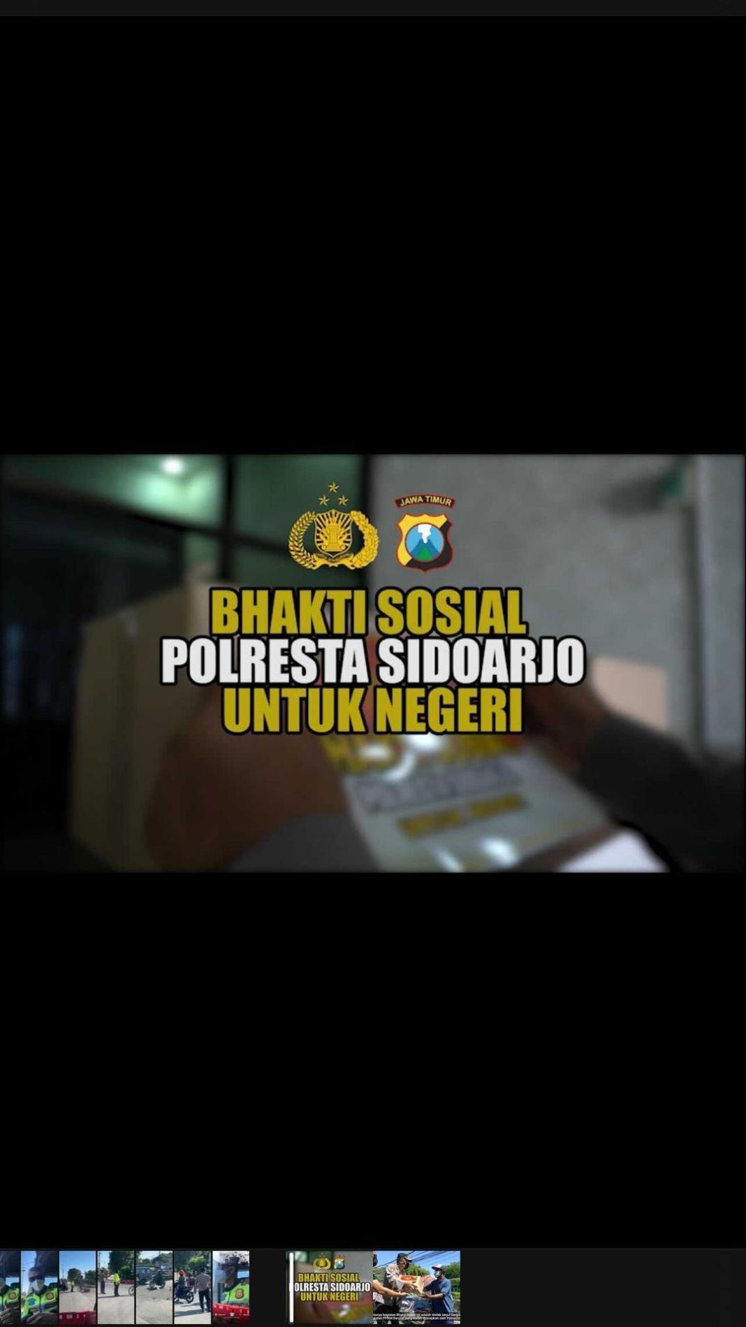Sidoarjo, Dalam pemberlakuan PPKM DARURAT di wilayah Sidoarjo, Polresta Sidoarjo melaksanakan k…