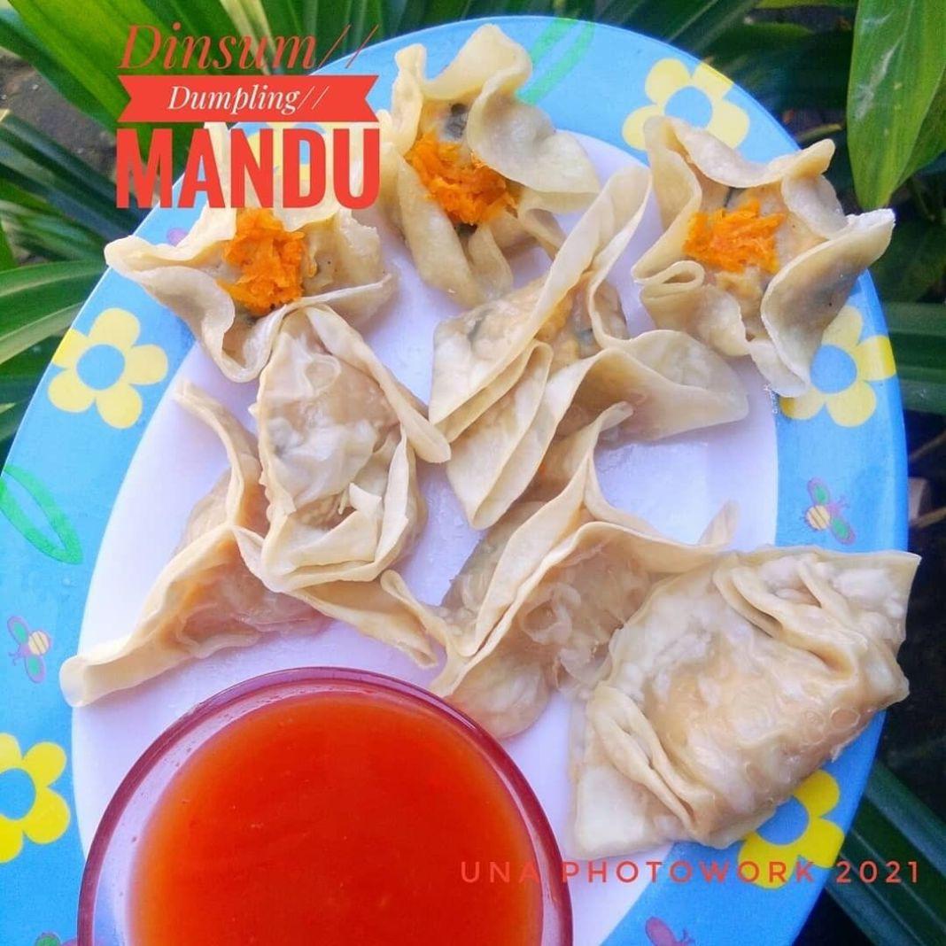 Info kuliner, Dimsum//Dumpling//Mandu ……. …… Bahan: 500 gram daging ayam fillet, 7 butir bawang putih…