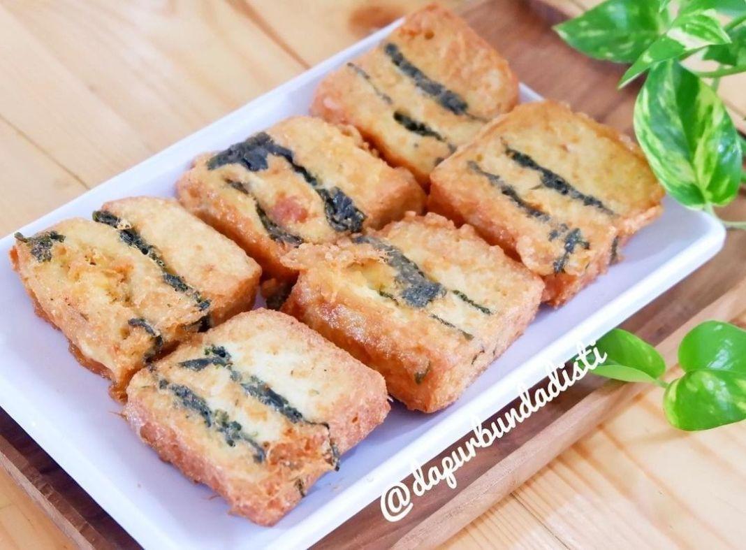 Info kuliner, NUGGET TAHU DAUN SINGKONG . .  Bahan Utama . 2 blok (berat kurang lebih 350gr) tahu cina,potong…