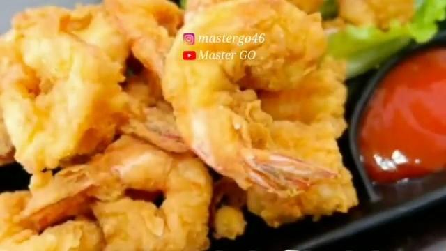 Info kuliner, UDANG GORENG TEPUNG MINIMALIS  Bahan – Bahan : 250 gr udang kupas 1 butir telur 2 bungkus tepun…