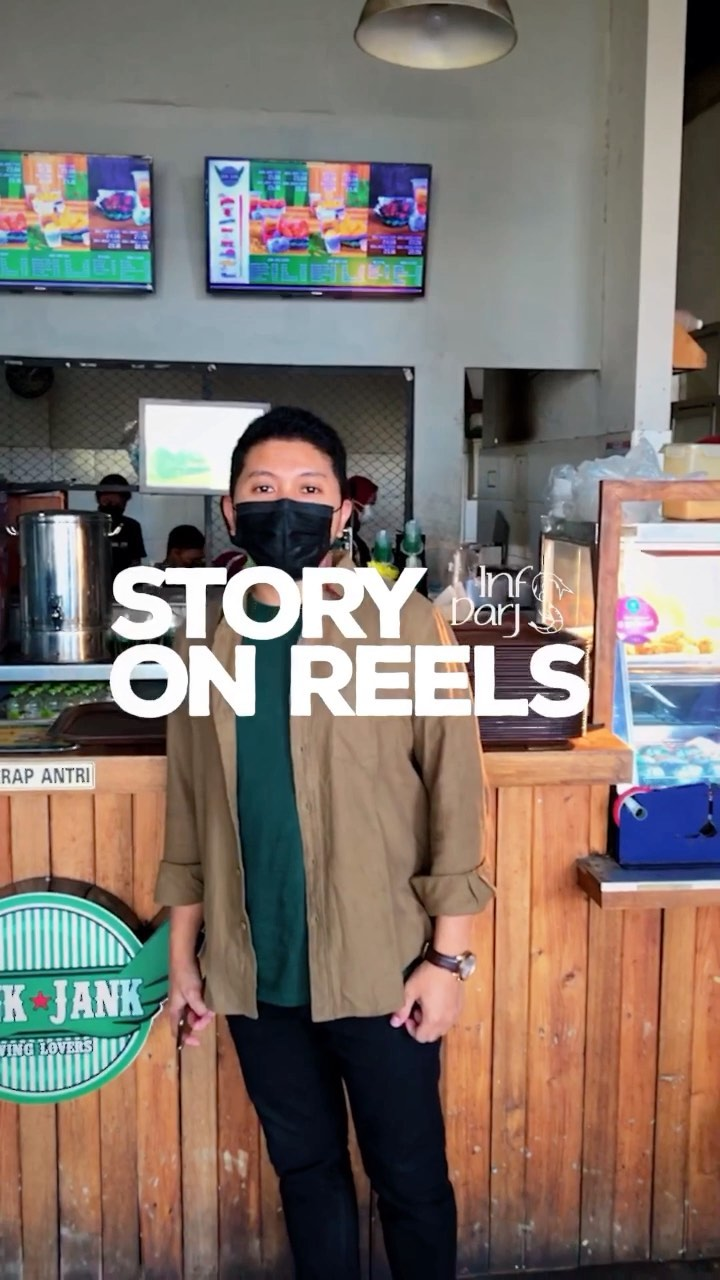 Story on reels kali ini @najmhabb yg menceritakan awal2 PPKM serta hingga sekarang…   promosi l…