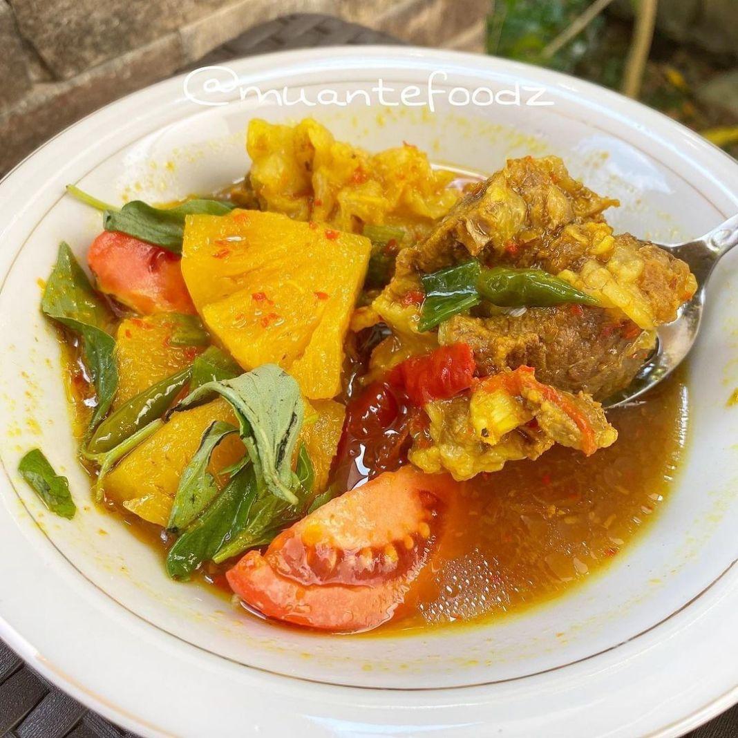 Info kuliner, PINDANG TULANG IGA MERANJAT KHAS PALEMBANG ala chef mince Gaesss Makan yang seger seger nihhh P…