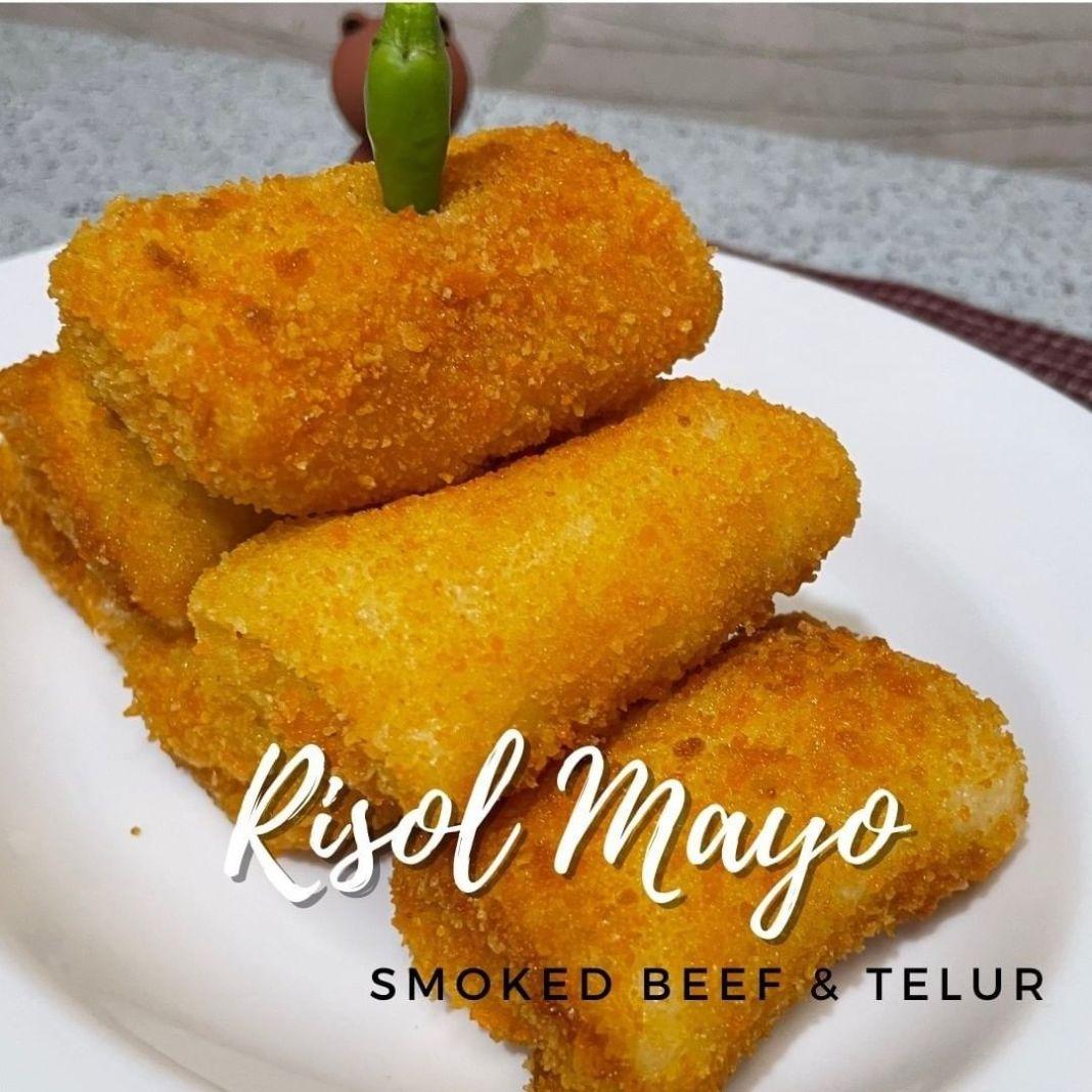Info kuliner, RISOL MAYO SIMPEL   RISOL MAYONAISE SMOKED BEEF & TELUR GORENGAN PALING ENAK  BAHAN untuk KULIT…