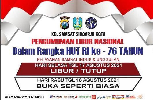 Dalam rangka memepringati HUT kemerdekaan Republik Indonesia ke 76 pada