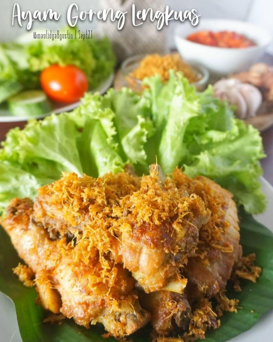 Info kuliner, nyetok ayam goreng yuuk!! yg kali ini dijamin cepet abis HAHAHA  AYAM GORENG LENGKUAS  Bahan : …