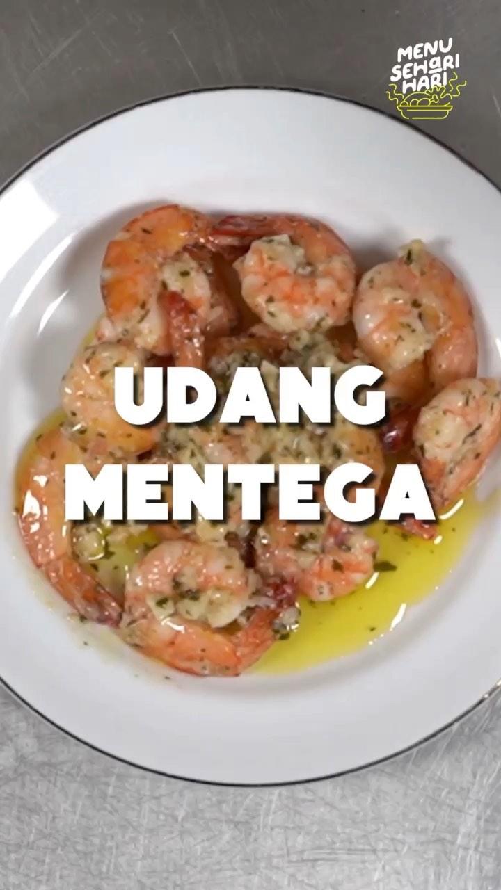 Info kuliner, Hai Moms kita olah udang dengan cara simple tapi rasanya juara yuk moms.  Bahan-bahan: 150gr Ud…
