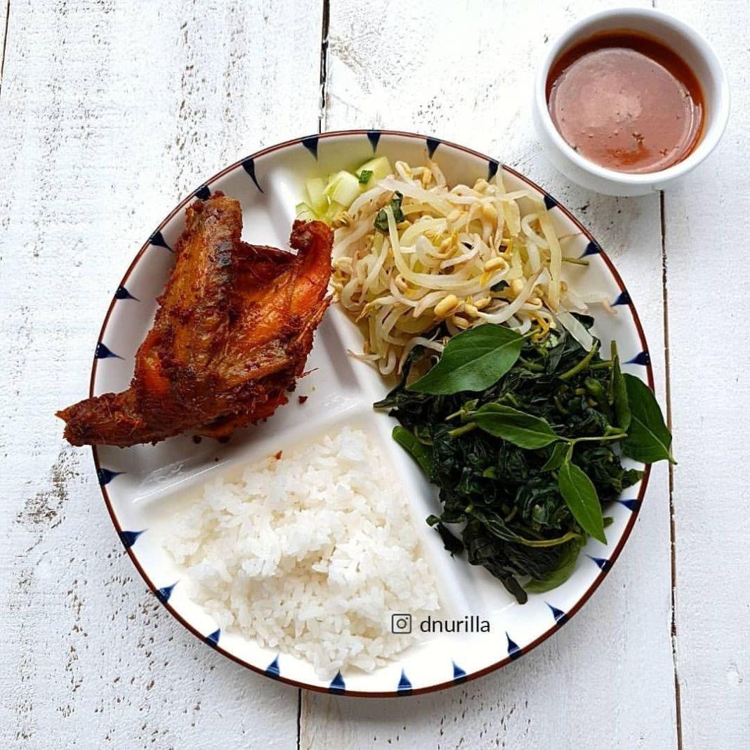 Info sehat, Bismillah, yuk arapan.. ini #isipiringku masih makan nasi putih, kadang pakai nasi coklat, paka…