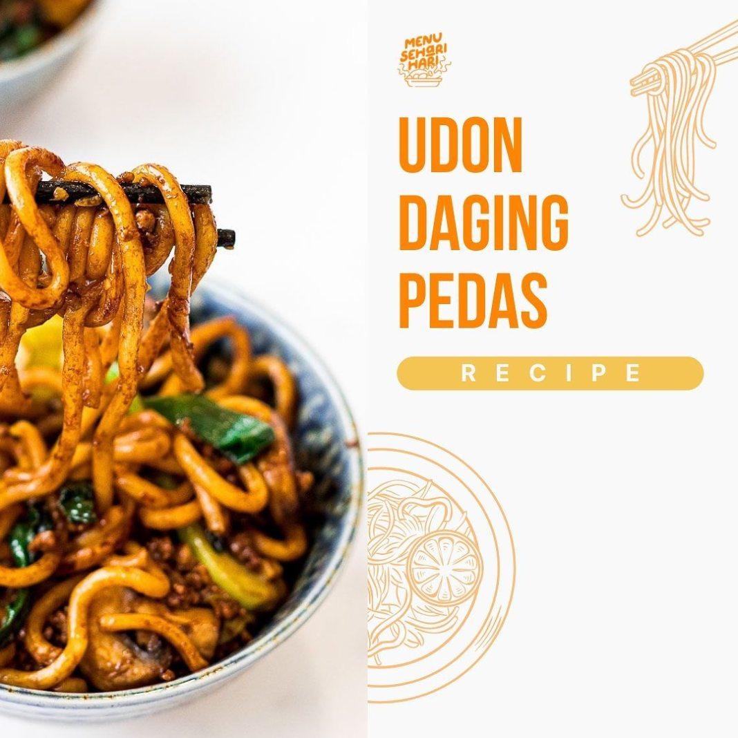 Info kuliner, Resep simple bagi pecinta udon pedaaas!!!! dicoba ya moms  Bahan-bahan :  Mie udon  Daging slic…