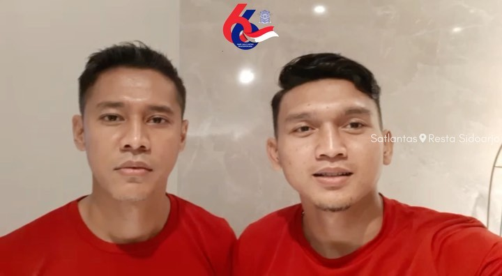 Selamat hari lalulintas bhayangkara ke – 66 pada 22 september 2021 dari pemain timnas indonesia…