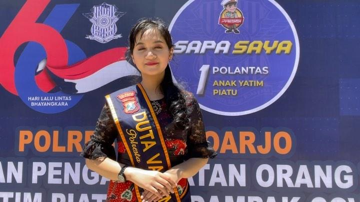 Selamat hari lalulintas bhayangkara ke – 66 pada 22 september 2021 dari Finalis Puteri Jawa Tim…