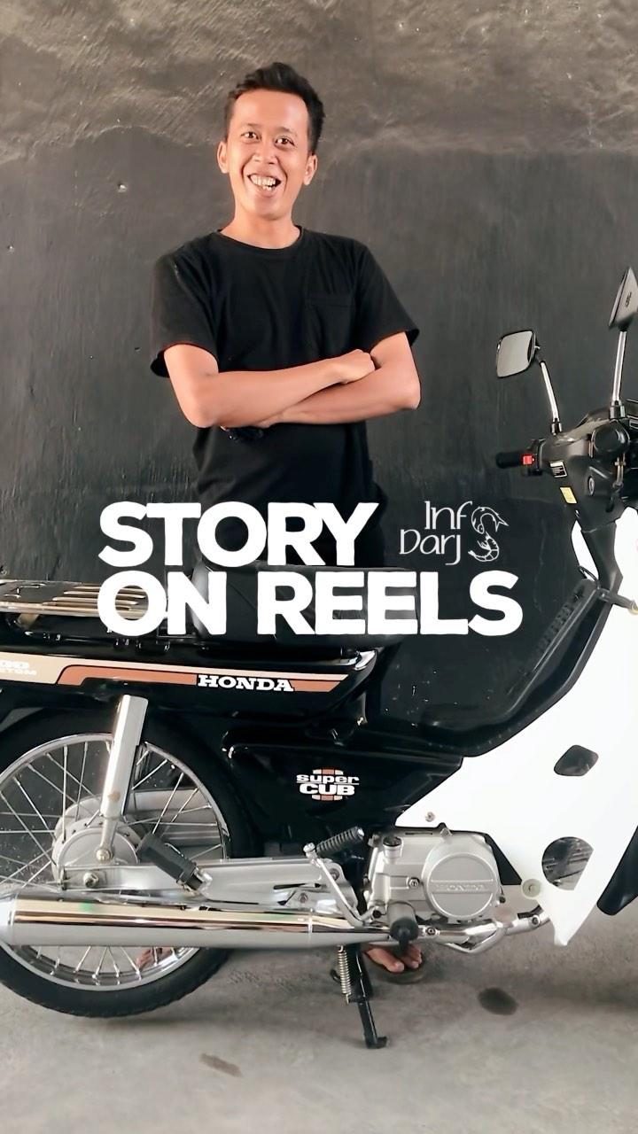 Geliat sepeda motor 90an lagi trend, para penghobi pancen lagi rame banget, podo karo doyok @wa…