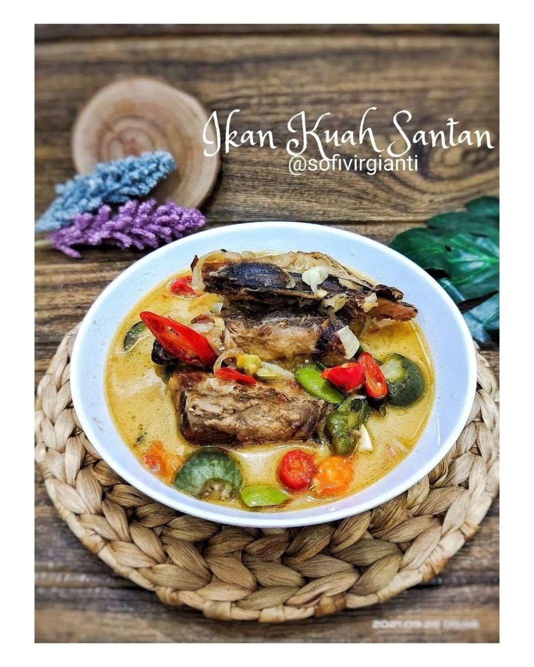 Info kuliner, kalo di pedesin rasanya duhh enak banget loh  Ikan Asap Masak Santan @sofivirgianti  Bahan :  5…