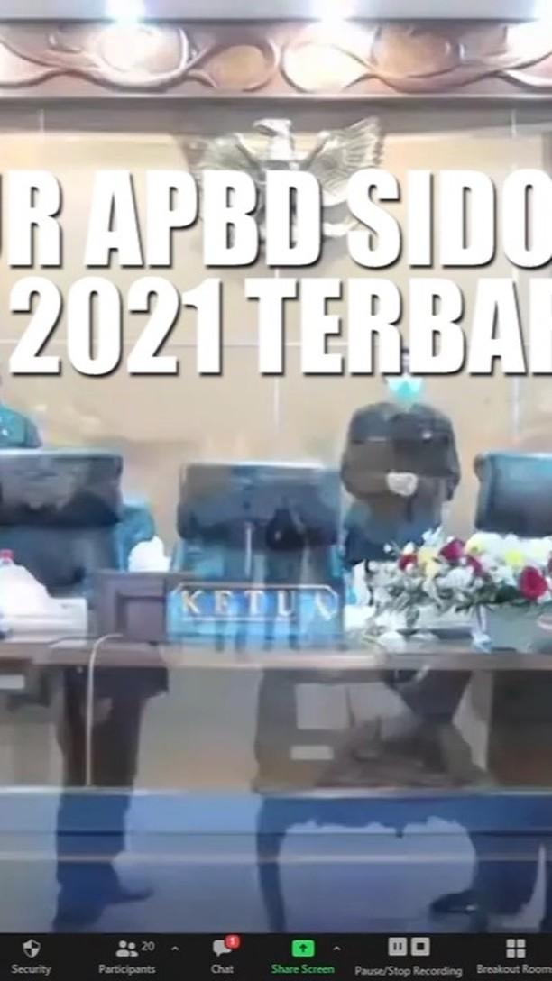 Bagaimana postur kekuatan APBD Sidoarjo untuk melaksanakan program pembangunan? Berikut disampa…