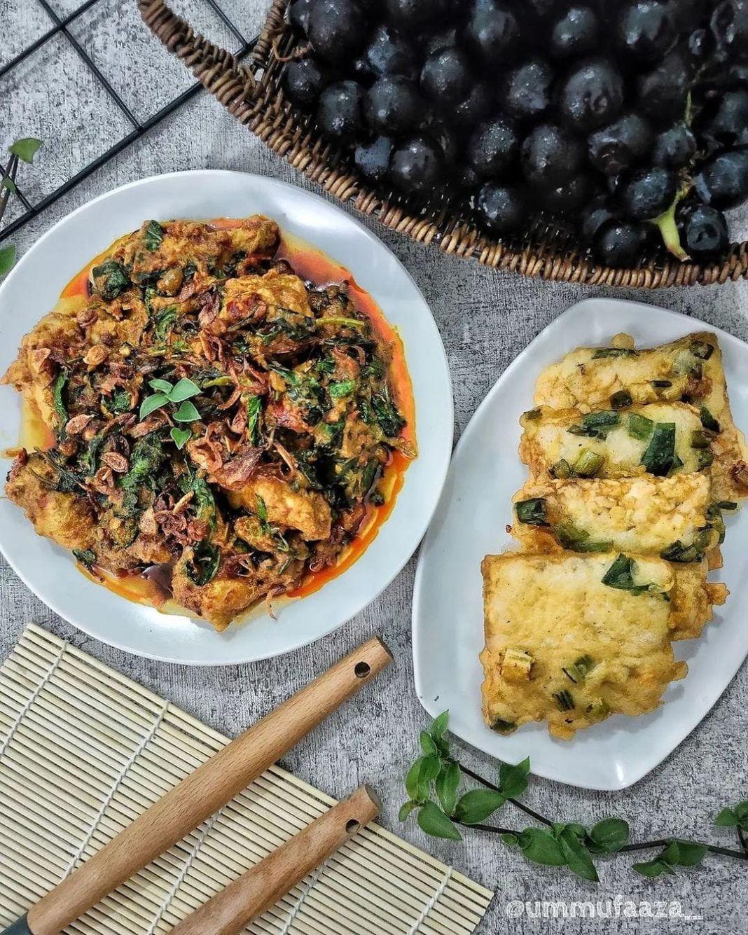 Info kuliner, •SET MENU TODAY• #4  #setmenuummufaaza – Ayam Rica-Rica – Mendoan – Anggur  Alhamdulillah, apap…