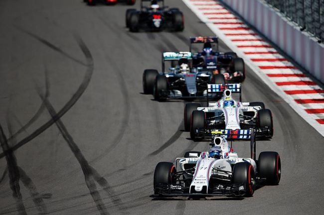 Williams conseguiu fazer uma bela corrida