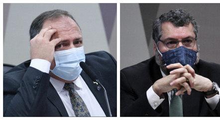 CPI da Covid aprova quebra de sigilo de Pazuello e Ernesto Araújo