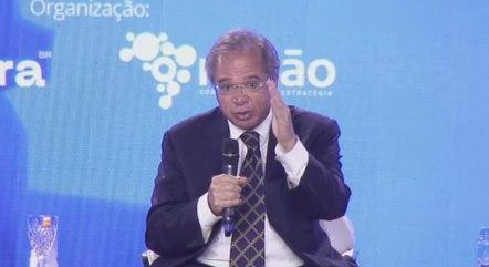 Guedes diz que 'está na hora' de fazer 1ª etapa da reforma tributária