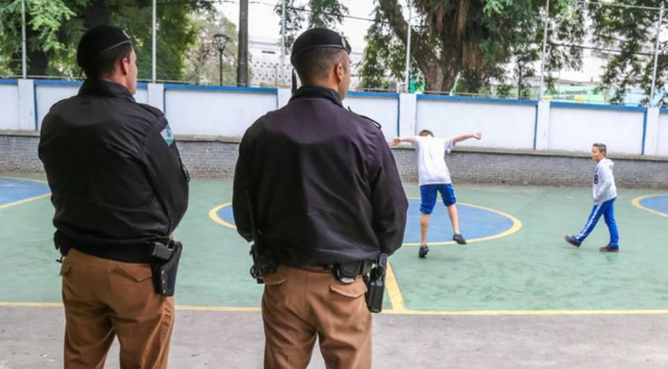 PMs começam a ser selecionados para reforçar segurança em escolas estaduais