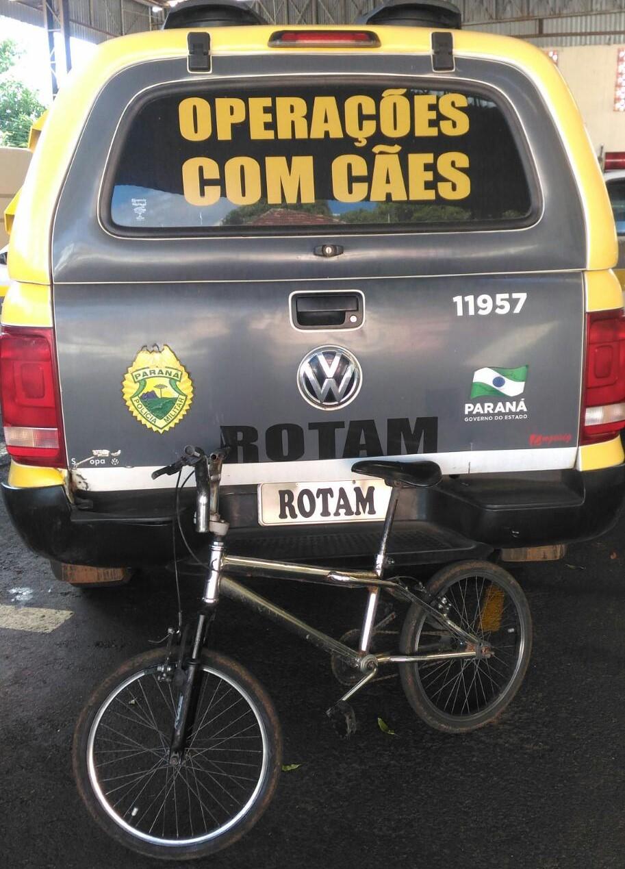 Rotam Canil prende homem por receptação de bicicleta furtada em Jacarezinho