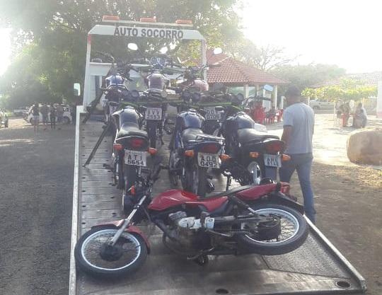 PRE apreende motos envolvidas em manobras perigosas