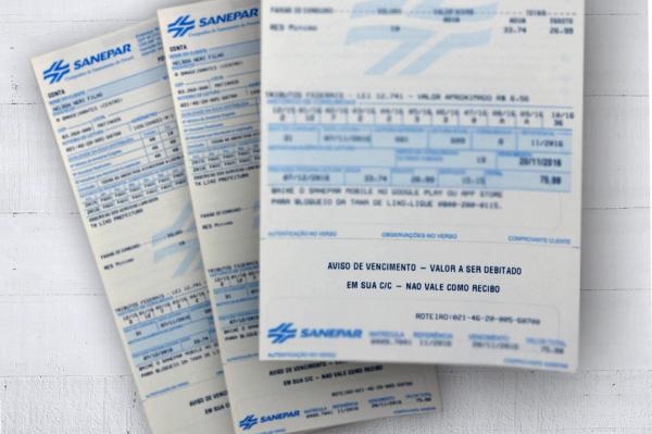 Agepar autoriza aumento de 12,13% na tarifa de água e esgoto da Sanepar