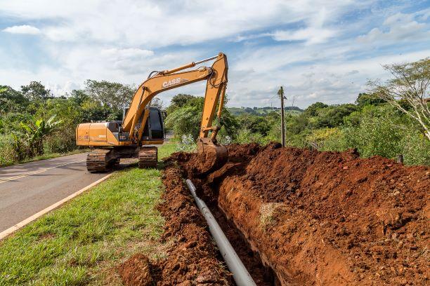 Construção de emissário dará destinação correta ao esgoto tratado