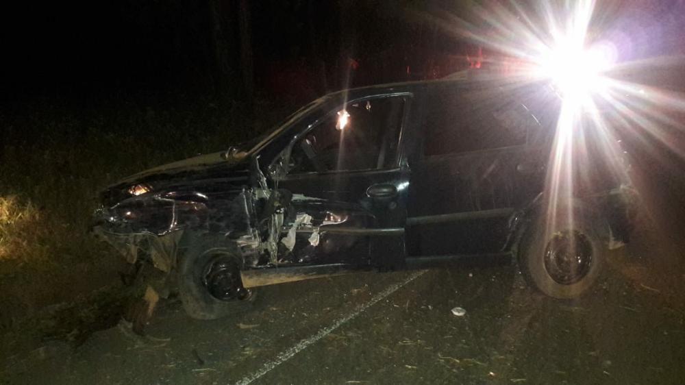 Motorista é hospitalizado após acidente na PR-272 em Japira
