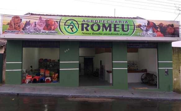 """Agora em Jacarezinho Agropecuária Romeu """" Faça-nos uma visita """""""