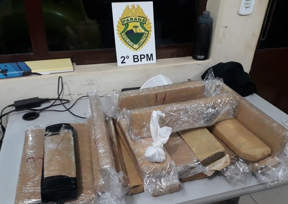 2º BPM: Polícia Militar faz grande apreensão de drogas em Cambará