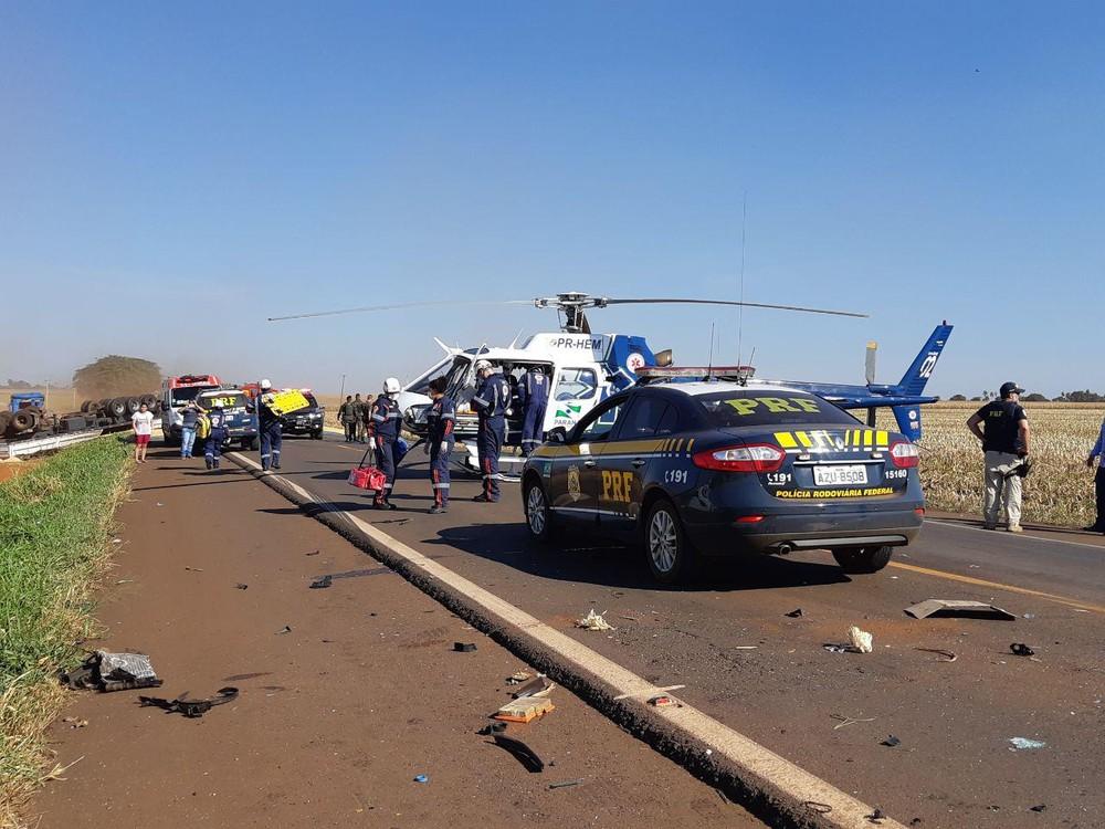 250 pessoas morreram em acidentes de trânsito nas rodovias federais do Paraná no 1º semestre, diz PRF