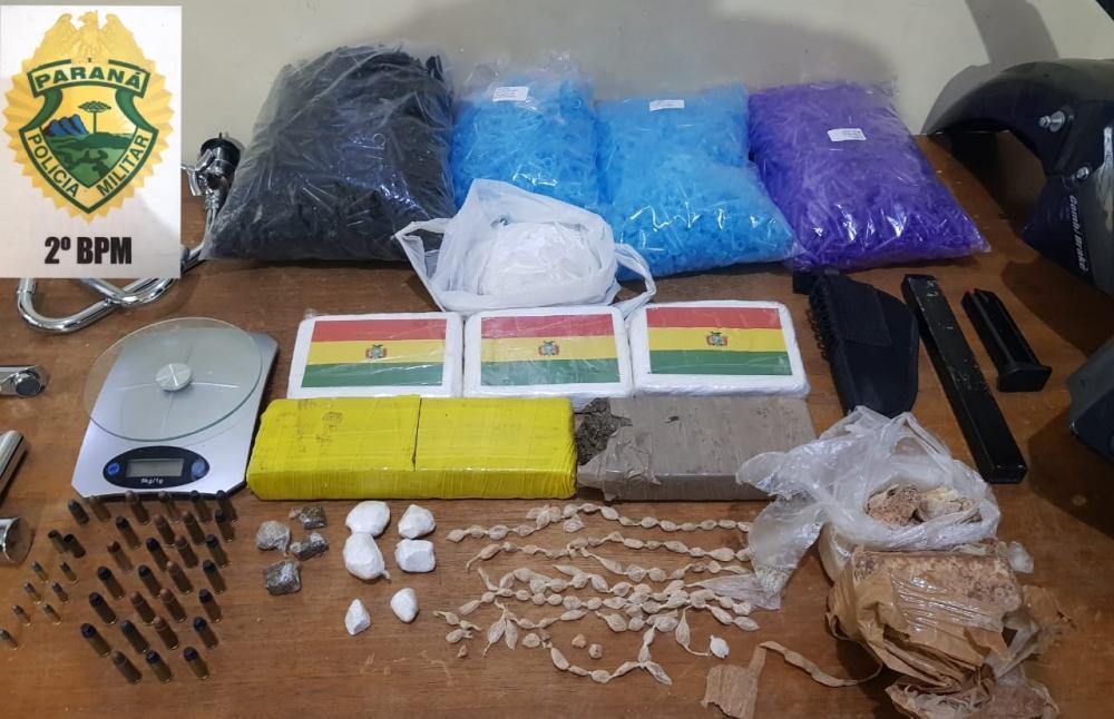 Após denúncia, PM apreende droga avaliada em R$ 150 mil