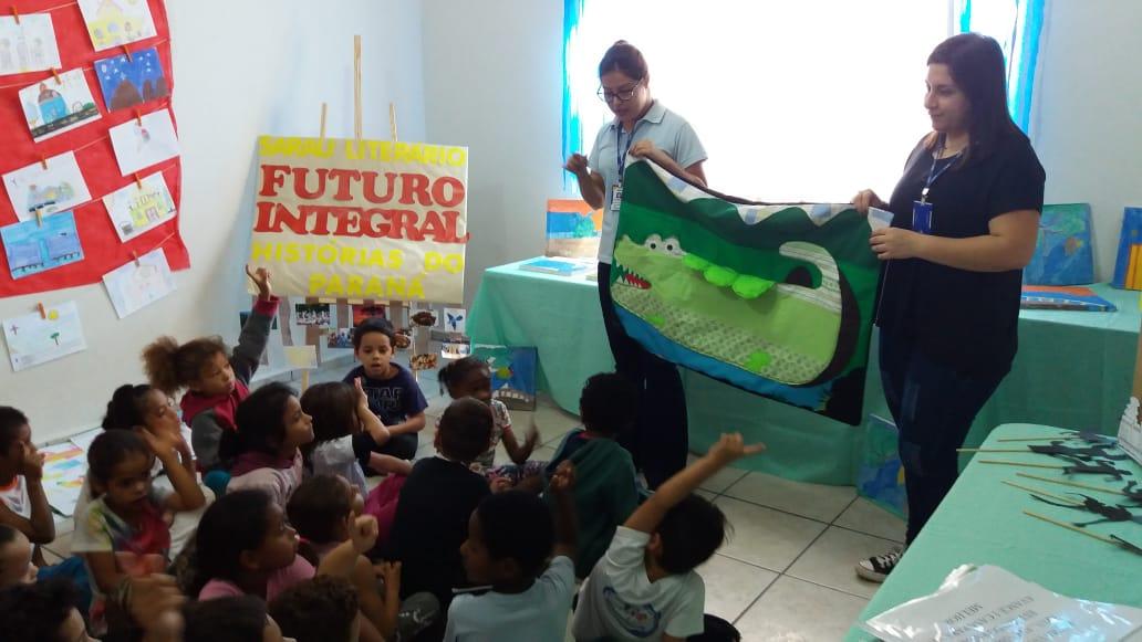 SESC realiza Sarau Literário com o Projeto Futuro Integral em Jacarezinho