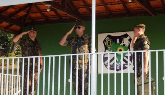 Jacarezinho: Tiro de Guerra 05-007 recebe visita de inspeção da 5ª Região Militar