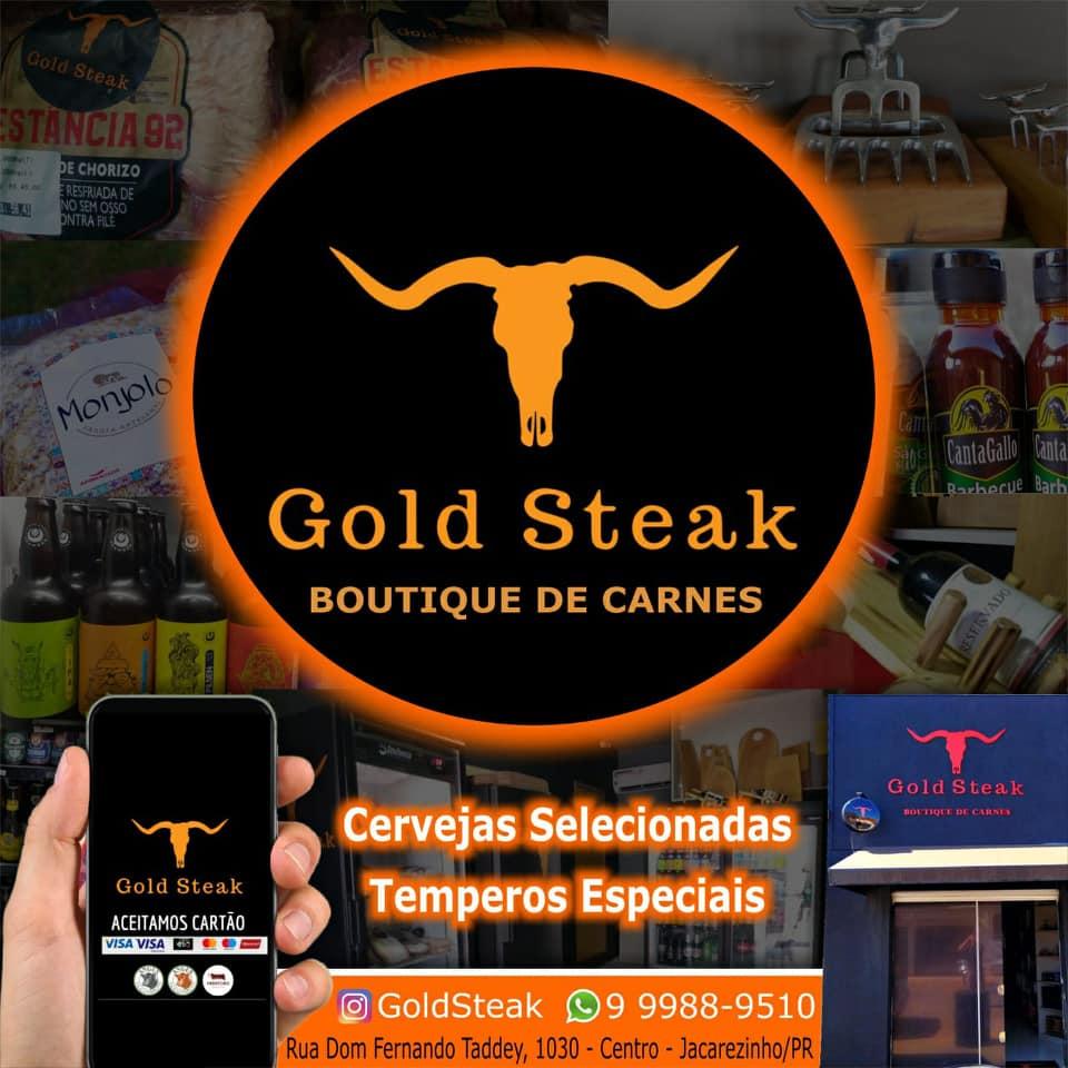 """Em Jacarezinho Gold Steak boutique de carnes, cervejas e temperos selecionados faça-nos uma visita """"Confiram as fotos"""""""