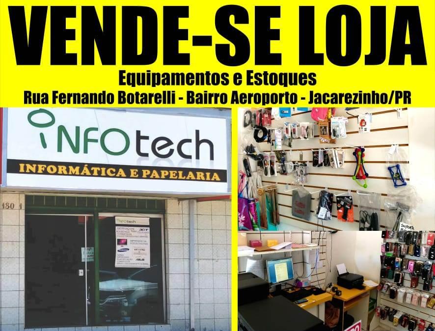 """Vende-se loja completa com equipamentos e estoques de informática em Jacarezinho-PR. """"Click aqui e confiram"""""""
