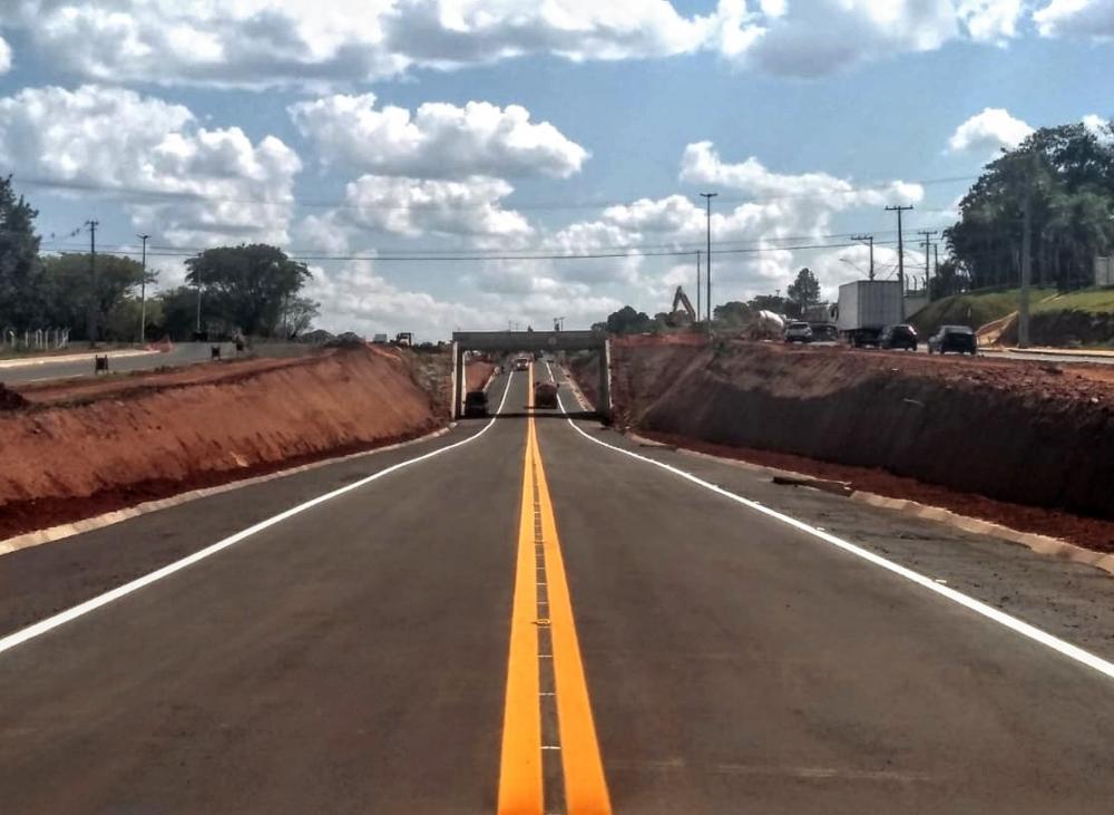 Econorte libera viaduto em Santo Antonio da Platina nesta sexta (22)