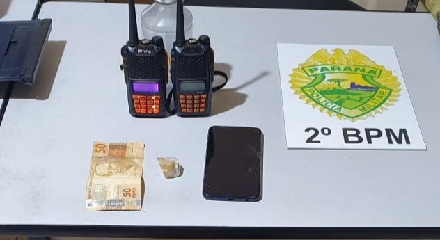 Polícia Militar prende traficante de drogas em Jacarezinho