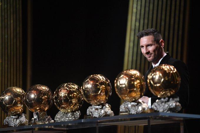 Messi vê fim mais perto, mas quer 'vários anos' de carreira após 6ª Bola de Ouro