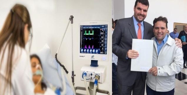 Deputado Pedro Lupion viabiliza RESPIRADORES HOSPITALARES para o município de Ibaiti