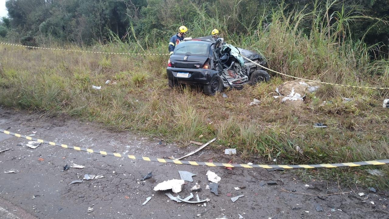 Paraná: Jovem de 23 anos morre em grave acidente contra ônibus
