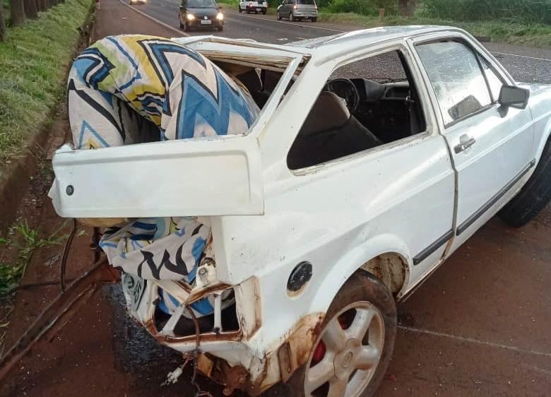 Criança de 5 anos morre após colisão carro x caminhão na BR 369 em Santa Mariana