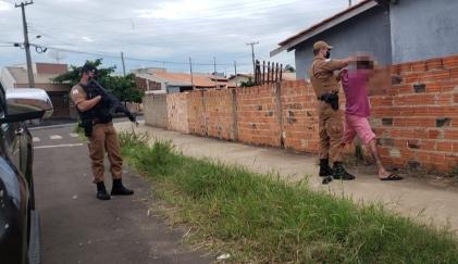 """Polícia Militar realiza """"Operação Vida"""" em Santo Antônio da Platina"""