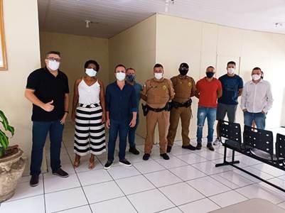 COVID-19: Iniciada vacinação de profissionais de segurança pública em Jacarezinho