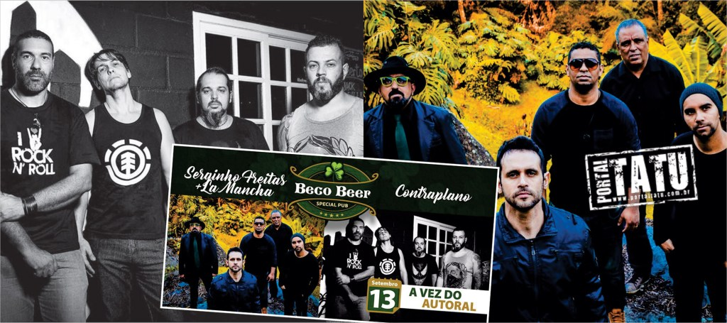 A Vez do Autoral – Serginho Freitas e Contraplano no Beco Beer na próxima quarta-feira
