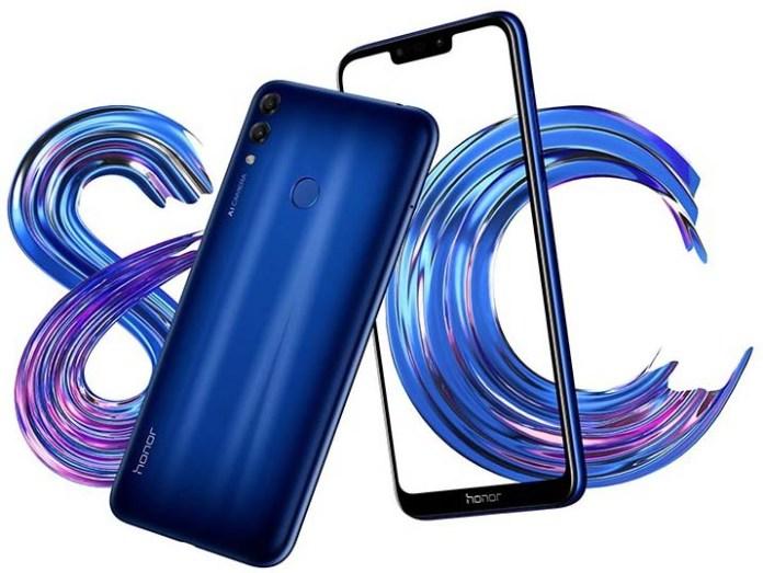 Состоялся официальный анонс смартфона Honor 8C