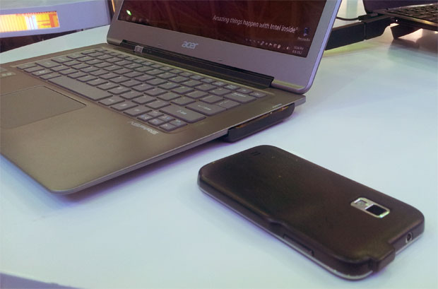 Intel mostra tecnologia para recarregar gadgets sem uso de fios