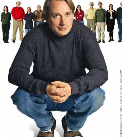 Linus Torvalds divide