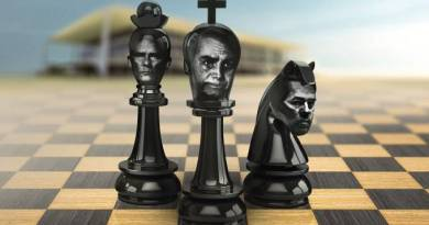 Bolsonaro joga damas, congressistas e Ministros do STF jogam xadrez