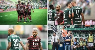 FOTOS: Em partida tensa, Flamengo bate o Palmeiras fora de casa