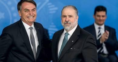 Aras banca o equilibrista quando o tema é Bolsonaro e ocoronavírus